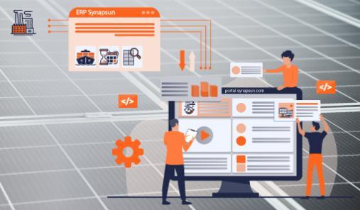 SYNAPSUN digitalise le sourcing de modules PV